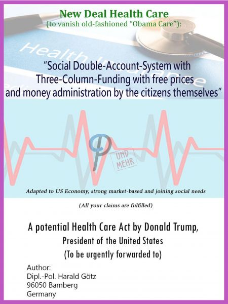 Social Double-Account-System (A New Healthcare Solution) (Ebook)