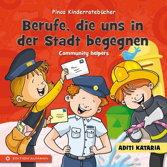 Kinderratebuch - Berufe, die uns in der Stadt begegnen