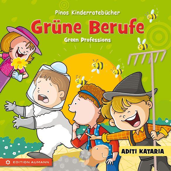 Pinos Kinderratebuch: Grüne Berufe - Green Professions